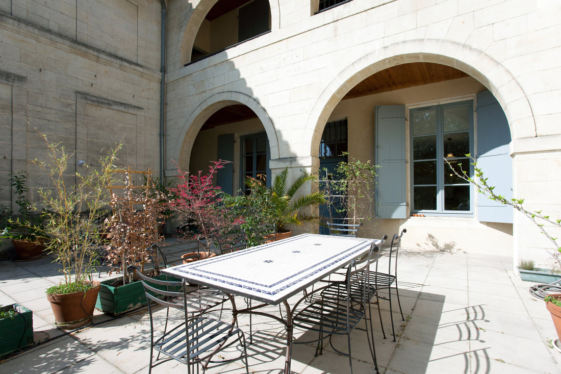 France Vacation Rental Terrace